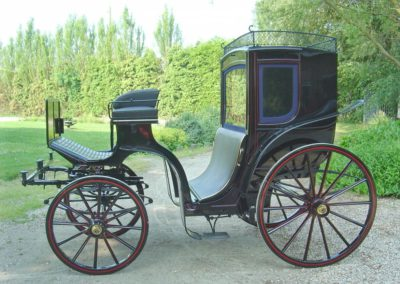 Four Wheeled Hansom Cab