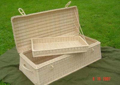 Wicker imperial basket