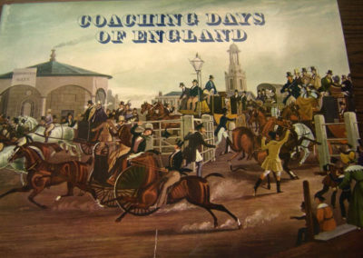 Large book: Coaching Days of England