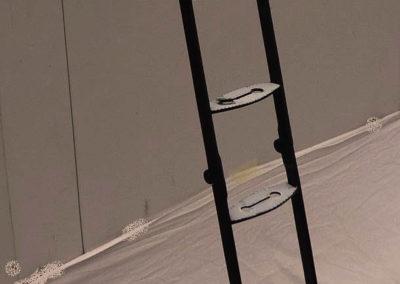 Coach folding ladder