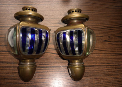 Buggy lamps  -  SOLD