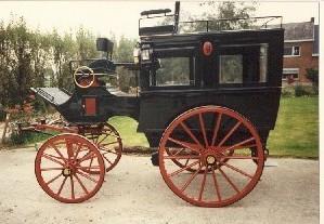 Omnibus with Roof Seat