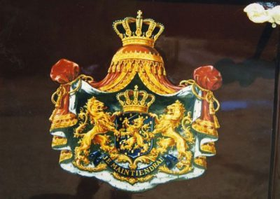 Coat of Arms restored