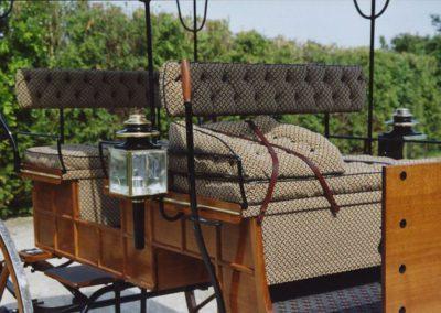 Bronson WagonTapestry upholstery