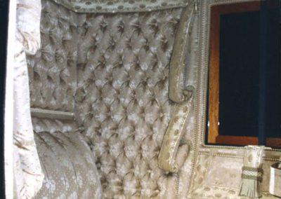 Coupé d'Orsay silk interior