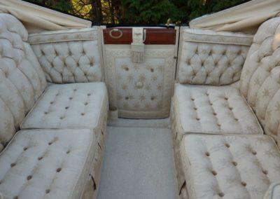 Landau: cotton rips upholstery