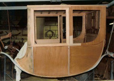 Chariot body rebuilt