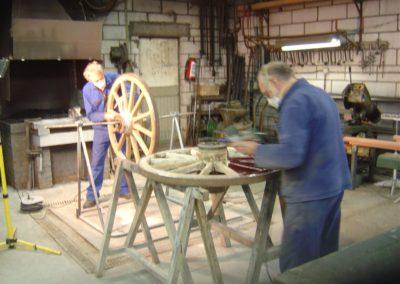 Sanding wheels