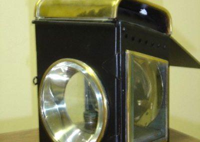 Footboard lamp
