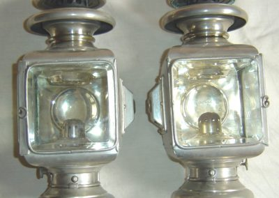 Governess cart lamps