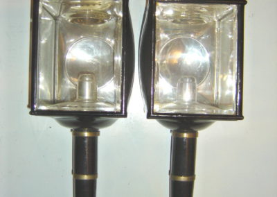 Large square lamps