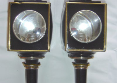 Lawton style gig lamps