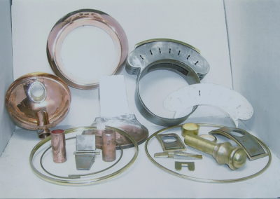 Parts for new footboard lamp