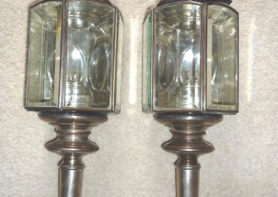 Hearse lamps
